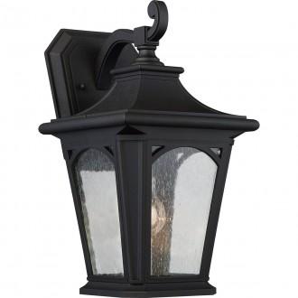 ELSTEAD QZ/BEDFORD2/M | Bedford-EL Elstead falikar lámpa tengerpartra tervezve 1x E27 IP44 UV fekete, buborékos hatás