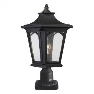 ELSTEAD QZ/BEDFORD3/M | Bedford-EL Elstead asztali lámpa 47cm kapcsoló tengerpartra tervezve 1x E27 IP44 UV fekete, buborékos hatás