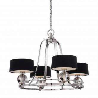 ELSTEAD QZ/GOTHAM4 | Gotham Elstead csillár lámpa 4x G9 1280lm 3000K ezüst, fekete, átlátszó