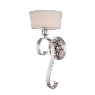 ELSTEAD QZ-MADISON-MANOR1-IS | Madison-Manor Elstead falikar lámpa 1x G9 320lm 3000K ezüst, fehér, átlátszó