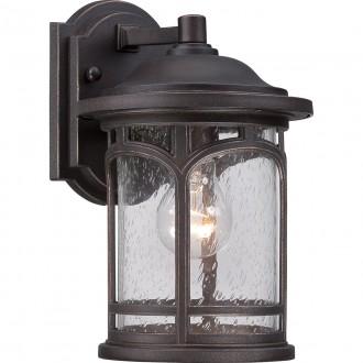ELSTEAD QZ/MARBLEHEAD2/S | Marblehead Elstead falikar lámpa tengerpartra tervezve 1x E27 IP44 UV antikolt bronz, buborékos hatás