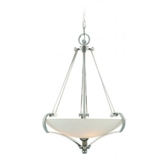 ELSTEAD QZ-SUTTON-PLACE-P | Sutton-Place Elstead függeszték lámpa 4x E27 ezüst, fehér