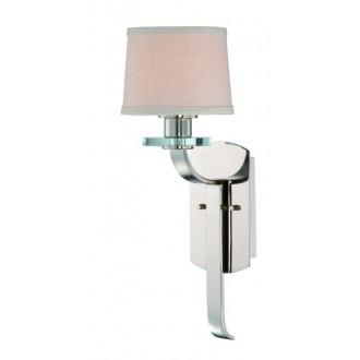 ELSTEAD QZ-SUTTON-PLACE1 | Sutton-Place Elstead falikar lámpa 1x E27 ezüst, fehér, átlátszó