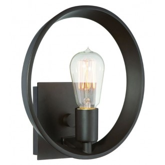 ELSTEAD QZ-THEATER-ROW1WT | Theater-Row Elstead fali lámpa 1x E27 bronz
