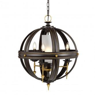 ELSTEAD REGAL4 | Regal-EL Elstead függeszték lámpa 4x E14 bronzbarna, arany, opál