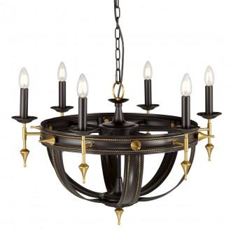 ELSTEAD REGAL6 | Regal-EL Elstead csillár lámpa 6x E14 bronzbarna, arany