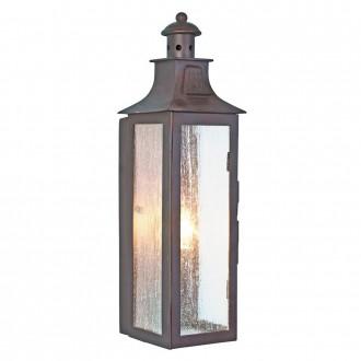 ELSTEAD STOW | Balmoral-Kendal-Stow Elstead fali lámpa 1x E14 IP44 antikolt bronz, buborékos hatás