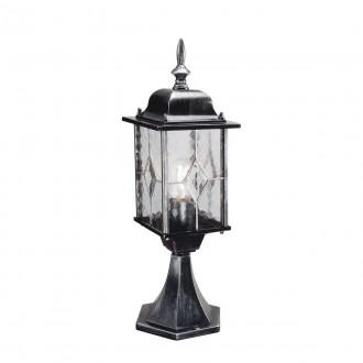 ELSTEAD WX3 | Wexford Elstead álló lámpa 52,3cm 1x E27 IP43 antikolt fekete, átlátszó