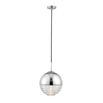 ENDON 68959 | Paloma-EN Endon függeszték lámpa 1x E14 króm, átlátszó