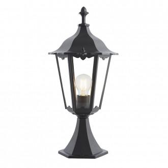ENDON 76549   Burford-EN Endon asztali lámpa 50cm 1x E27 IP44 matt fekete, átlátszó