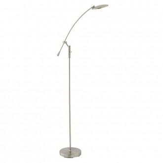 ENDON 76569 | Rico-EN Endon álló lámpa 150cm fényerőszabályzós kapcsoló elforgatható alkatrészek, szabályozható fényerő 1x LED 375lm 3000K szatén nikkel