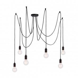 ENDON 76583 | Studio-EN Endon függeszték lámpa állítható magasság 6x E27 matt fekete