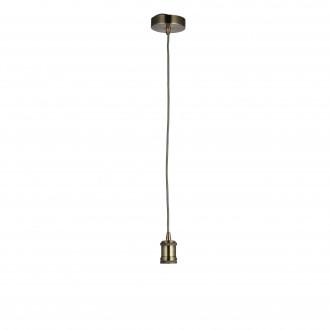 ENDON 76585 | Cambourne Endon függeszték lámpa állítható magasság 1x E27 antikolt réz