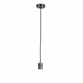 ENDON 76587 | Urban-EN Endon függeszték lámpa állítható magasság 1x E27 antikolt réz