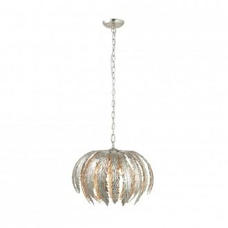 ENDON 76678   Delphine Endon függeszték lámpa állítható magasság 3x E14 ezüst