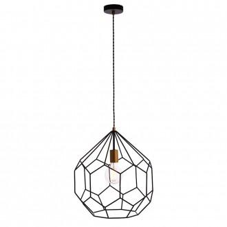 ENDON 76686 | Deco-EN Endon függeszték lámpa 1x E27 matt fekete, matt arany