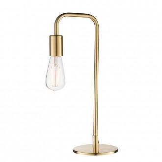 ENDON 77117   Rubens Endon asztali lámpa 45cm vezeték kapcsoló 1x E27 súrolt arany