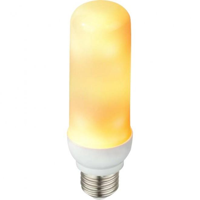 GLOBO 10100 | E27 3W -> 25W Globo henger LED fényforrás dekor Láng-effektus 88lm 1600K