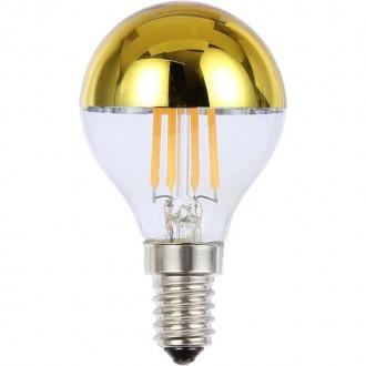 GLOBO 10505 | E14 4W -> 35W Globo kis gömb P45 LED fényforrás filament 380lm 2700K