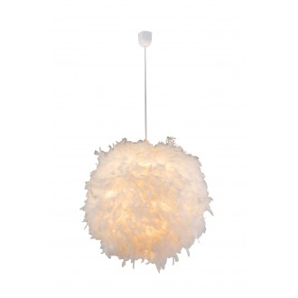 GLOBO 15058 | Katunga Globo függeszték lámpa 1x E27 fehér