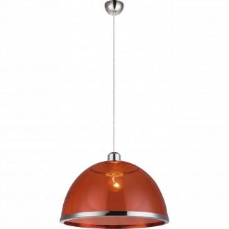 GLOBO 151840 | Carlo Globo függeszték lámpa 1x E27 króm, piros