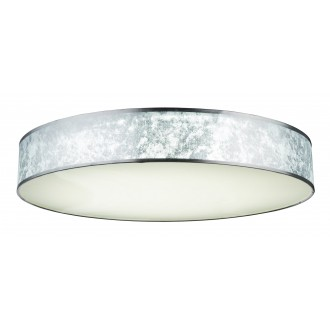 GLOBO 15188D5 | Amy-I Globo mennyezeti lámpa távirányító szabályozható fényerő, állítható színhőmérséklet 1x LED 7000lm 3000 - 4500 - 6000K fehér, ezüst, szatén