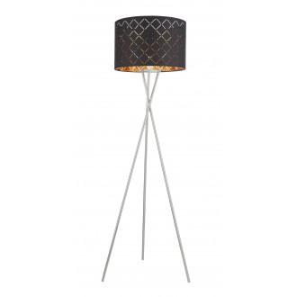 GLOBO 15229S1 | Kidal-Clarke Globo álló lámpa 160cm taposókapcsoló 1x E27 króm, matt nikkel, arany