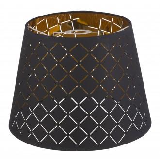 GLOBO 15229S3   Kidal-Clarke Globo ernyő lámpabúra matt nikkel, arany, fekete