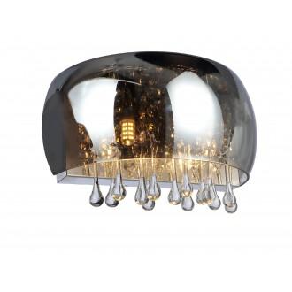 GLOBO 15809W | Kalla Globo fali lámpa 2x G9 fém, füst, átlátszó