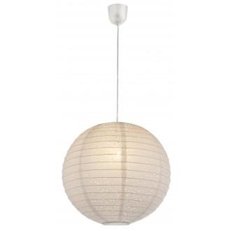 GLOBO 16910 | Varys Globo függeszték lámpa 1x E27 fehér