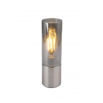 GLOBO 21000N   Annikag Globo asztali lámpa 30cm érintőkapcsoló 1x E27 matt nikkel, füst