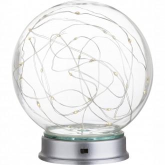 GLOBO 29934   Cosila Globo dekor lámpa kapcsoló 30x LED átlátszó