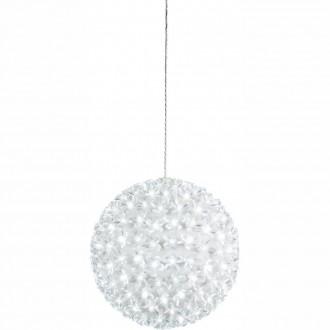 GLOBO 29938-23 | Rose-I Globo függeszték lámpa érintőkapcsoló 200x LED 300lm 5500K IP44 fehér