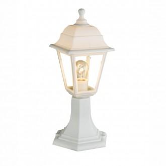 GLOBO 31877 | Luca Globo álló lámpa 40,5cm 1x E27 IP44 fehér, átlátszó