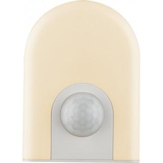GLOBO 31931 | Enio-I Globo éjjelifény lámpa mozgásérzékelő, fényérzékelő szenzor - alkonykapcsoló konnektorlámpa 6x LED 4lm 3000K fehér