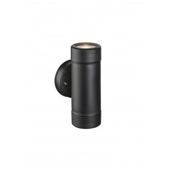 GLOBO 32005-2 | Cotopa Globo falikar lámpa 2x GU10 IP44 fekete