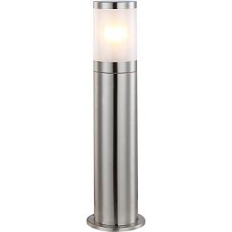 GLOBO 32015 | Xeloo Globo álló lámpa 50cm 1x E27 IP44 acél, opál