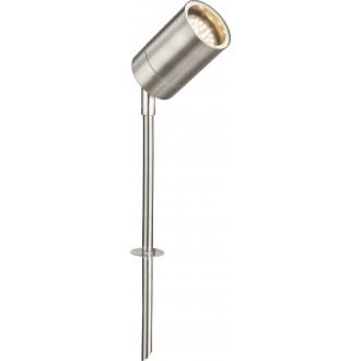 GLOBO 32077 | Style Globo leszúrható lámpa villásdugó - kapcsoló nélkül elforgatható alkatrészek 1x GU10 IP44 acél, opál