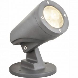GLOBO 32089S | Molly Globo leszúrható lámpa elforgatható alkatrészek 1x LED 268lm 3000K IP65 fekete