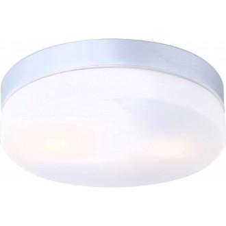 GLOBO 32112 | Vranos Globo mennyezeti lámpa 2x E27 IP44 alumínium, opál