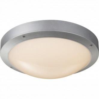 GLOBO 32145 | Maurus Globo mennyezeti lámpa 1x LED 860lm 3000K IP44 szürke, opál