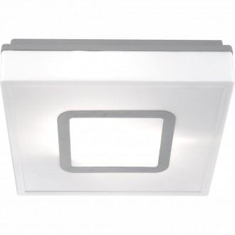 GLOBO 32212 | Lester Globo mennyezeti lámpa energiatakarékos izzóhoz tervezve 2x E27 IP44 fehér, alumínium