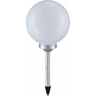 GLOBO 3377 | Soglo12 Globo leszúrható lámpa napelemes/szolár 4x LED IP44 fehér