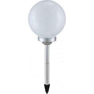 GLOBO 3378 | Soglo12 Globo leszúrható lámpa napelemes/szolár 4x LED IP44 fehér