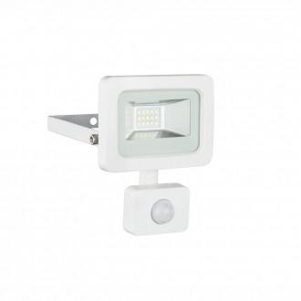 GLOBO 34002S | Callaqui Globo fényvető lámpa mozgásérzékelő elforgatható alkatrészek 1x LED 550lm 6000K IP44 fehér, átlátszó