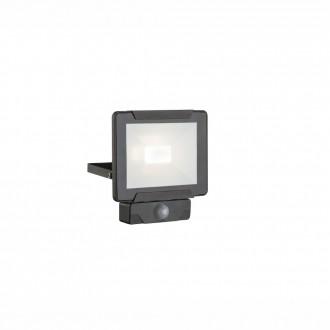 GLOBO 34010S | Urmia Globo fényvető lámpa mozgásérzékelő elforgatható alkatrészek 1x LED 1600lm 4000K IP44 fekete