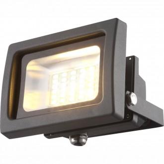 GLOBO 34108 | Radiator_IV Globo fényvető lámpa elforgatható alkatrészek 1x LED 1250lm 3200K IP65 sötét szürke, átlátszó