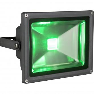 GLOBO 34119 | Radiator_V Globo fényvető lámpa távirányító színváltós, elforgatható alkatrészek 1x LED 1300lm RGBK IP65 fekete, átlátszó