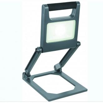 GLOBO 34149 | Tunga Globo hordozható lámpa kapcsoló szabályozható fényerő 1x LED 600lm 6500K IP44 fekete