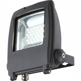 GLOBO 34219 | Projecteur_I Globo fényvető lámpa elforgatható alkatrészek 1x LED 1500lm 6500K IP65 sötét szürke, átlátszó